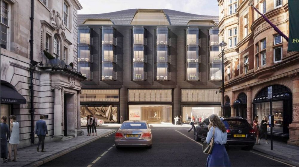 First look at designs for £500 million London hotel from chain favoured by royals.