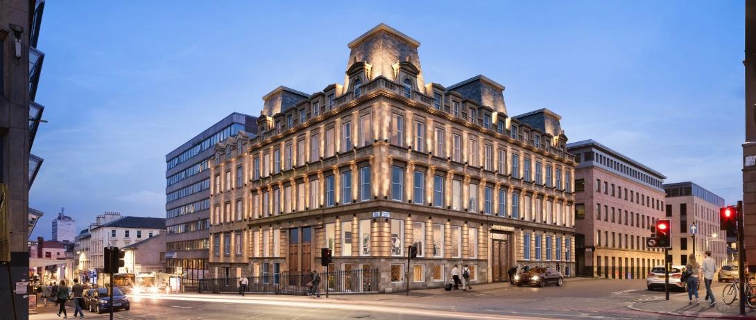 Glasgow Wellington House To Become A Hotel