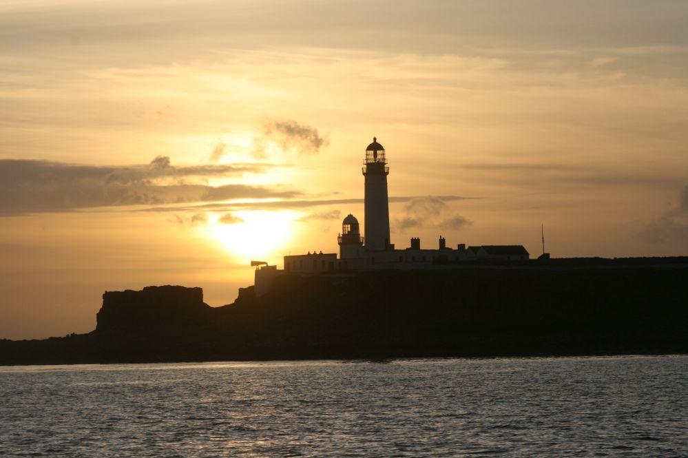 Plada Light House sunset
